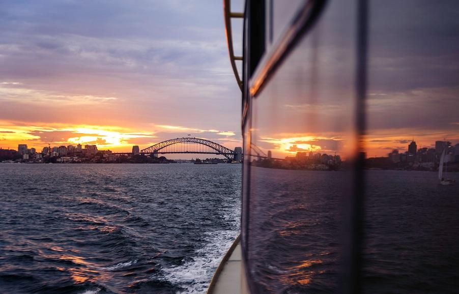 Bateau devant Australie